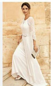 kaleidoscope Iris Wedding Dress Size 14 New Was £329