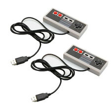 2X Classic USB Famicom Controller Gamepad Joypad for Nintendo NES Windows PC/MAC