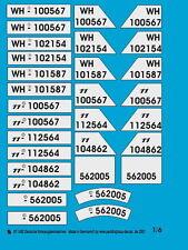 Peddinghaus 1/6 1482 German Vehicle Registration Number