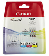 Canon Pixma MP630 MP640 MP980 MP990 Genuine Ink Cartridges Multipack