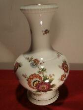 Vase hoch H 27 cm asiatisch florales Dekor Vasen Bareuther Waldsassen Shabby