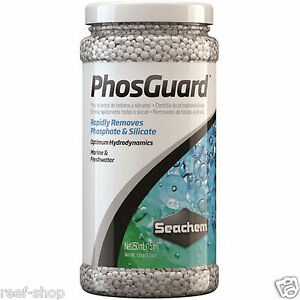 Seachem PhosGuard 250mL Removes Phosphate and Silicate Aquarium Filter Media