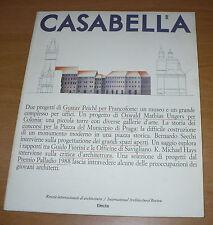 CASABELLA RIVISTA ARCHITETTURA N.549 SETTEMBRE 1988 GUSTAV PEICHL O.M. UNGERS