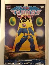 Thanos Quest #1 Signed By Jim Starlin