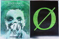 UNDEROATH They're Only Chasing Safety PROMO Two Sided Poster SPENCER CHAMBERLAIN