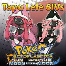 Tapu Lele 6IV ☀️ Shiny or not 🌙 Battle Ready Pokemon Sun Moon Ultra SM USUM