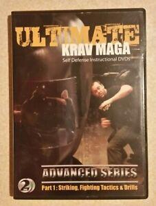 Ultimate Krav Maga - Advanced Series - Part 1 (2-DVD, 2010) SEE DESCRIP./ RegAll
