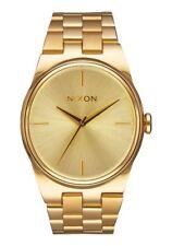 New Nixon A953502 Idol All Gold Stainless Steel 35 mm Ladies Watch NIB