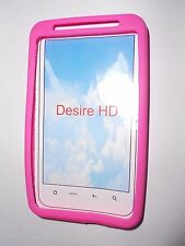 GEL CASE HARD BACK COVER FOR HTC DESIRE HD