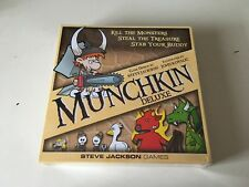 Munchkin Deluxe Board Card Game From Steve Jackson Games SEALED BRAND NEW!!!!