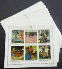 EDW1949SELL : COOK ISLANDS 1967 Scott #226a Paintings 34 S/s VF MNH Catalog