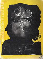 NELSON DOMINGUEZ Revista Revolución y Cultura, 1983. Art Cuba Painting Magazine.