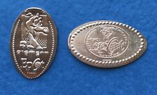 Disney World Figment 2 Pressed Penny Set Epcot WDW Copper Tokens