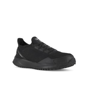 Reebok Men's All Terrain Steel Toe Black Oxford Work Shoes RB4090