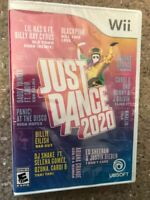 Just Dance 2020 Nintendo Wii Video Game Brand NEW - Sealed