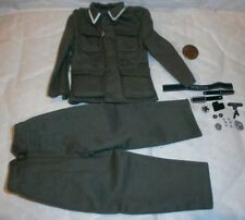 Toys City German NCO jacket and trousers 1/6th scale toy accessory