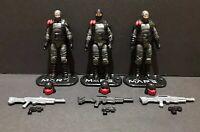 G.I. Joe 25th 30th 50th ROC Cobra MARS Trooper Custom Army Builder Figure Lot