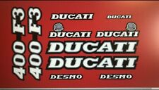 DUCATI 400-F3 400 F3 PAINTWORK DECAL KIT
