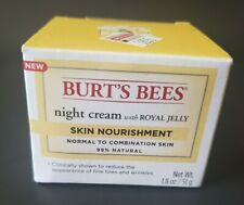 Burt's Bees Skin Nourishment Night Cream w/Royal Jelly 99% Natural 1.8 oz.