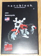 Motorcycle Nanoblock micro sized building block construction toy Kawada