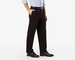Mens Dockers Best Pressed Signature Khaki Relaxed Fit Pleated pants