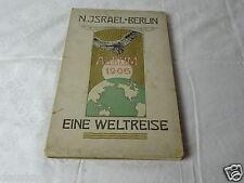 Kaufhaus N.Israel Berlin Eine Weltreise 1905 Buch Album Jugendstil