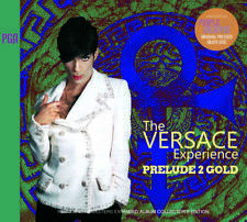 Prince The Versace Experience Prelude 2 Gold Collector's Edition CD 2 Discs Set