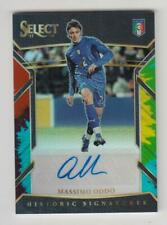 2017-18 Panini Select Soccer Auto card : Massimo Oddo #29/30