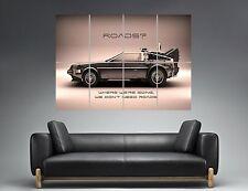 DeLorean Zurück in die future zurück in die Zukunft Wand Plakat groß Format A0