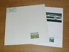 Jaguar XJS Brochure 1987 - 3.6 Coupe - V12 Coupe & V12 - XJ-S - XJ-SC