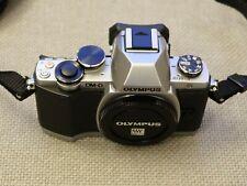 Olympus OM-D E-M10 16.1MP Digital SLR Camera - Silver (Body Only)