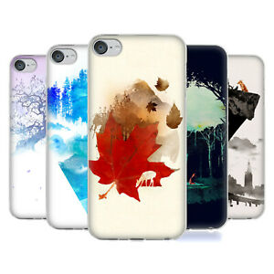 OFFICIAL ROBERT FARKAS LANDSCAPES GEL CASE FOR APPLE iPOD TOUCH MP3