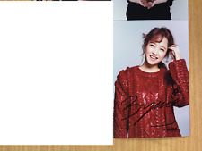 Park Bo Young 4x6 Photo Korean Actress KPOP autograph hand signed USA Seller A13