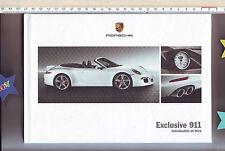 """Prospekt Porsche hardcover Exclusive 911 """"Individualität ab Werk"""" Stand: 2011"""