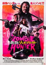 Zombie Hunter 2013 Danny Trejo K. King Japanese Chirashi Mini Movie Poster B5