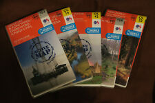 Lot of 5 2015 UK Ordnance Survey Waterproof Explorer Active Maps - NEW