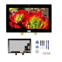 Black For Microsoft Surface Pro 2 1601 LCD Display Touch Screen Replacement AAA