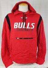 Brand New Men's NBA Fanatics Chicago Bulls Pullover Red Hooded Sweater