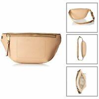Calvin Klein Women's Belt Bag Waist Pack Crossbody Tote Handbags Purse Beige NEW