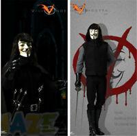 CT013 V for Vendetta 2.0 Modelo Acción Figura Juguetes Móvil 30cm Nuevo Figuras