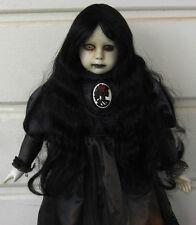"Creepy Horror Gothic Scary Ooak 22"" Art Zombie Doll"