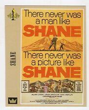 Figurina SUPERCINEMA EVENTS MAXI CARDS NUMERO 143 SHANE