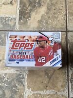 2021 Topps Baseball Series 1 Retail Box Factory Sealed 24 Packs