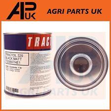 1 Litro de Pintura Negro Mate tractol chasis de alta calidad Tractor Volquete Excavadora 4X4