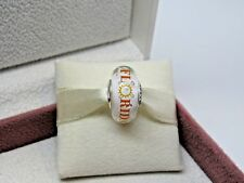 New w/BOX Pandora Florida Sun Murano Glass Bead Charm #ENG791617CZ_1