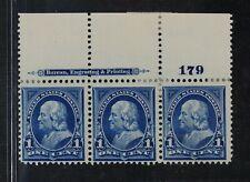 CKStamps: US Stamps Collection Scott#264 Strip Mint H OG