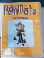 DVD Animazione RANMA 1/2 vol 3  Episodi 9/12  anime giapponesi 1989
