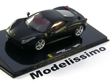 1:43 Hot Wheels Elite Ferrari 458 Italia 2009 flatblack