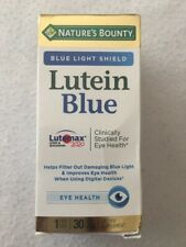 "NATURE""S BOUNTY Lutein Blue Eye Health 6/21"