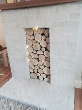 Decorative logs fantastic feature by posh logs   january sales  pls hurry